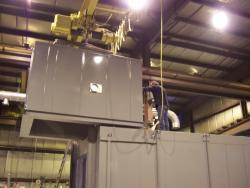 Industrial oven installation services