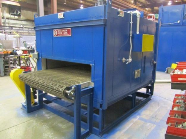 quick drying belt conveyor oven
