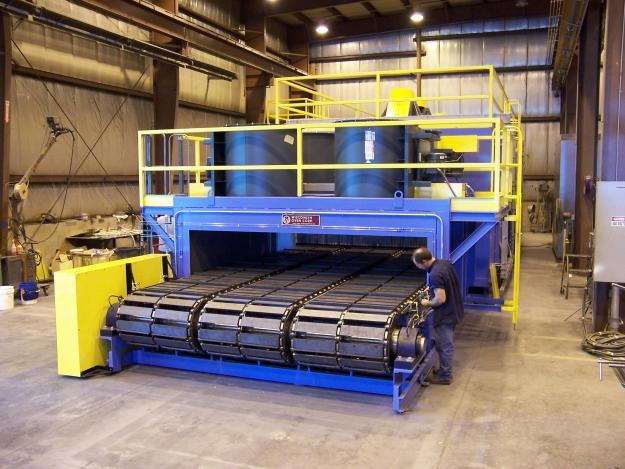 slat chain conveyor oven