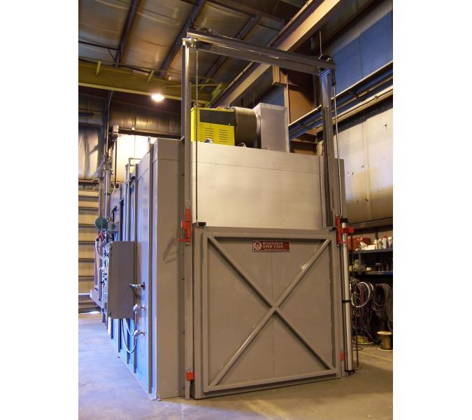 enhanced walk in oven powder coating oven wisconsin oven Gas Powder Coating Oven Plans
