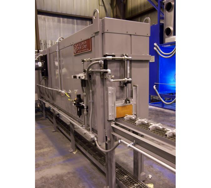 Top Flow Conveyor Ovens & Furnaces