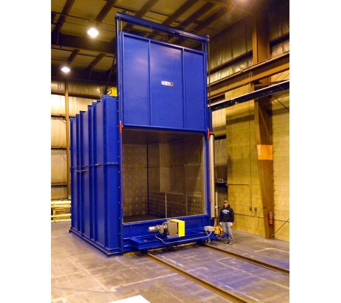 Gas fired batch oven