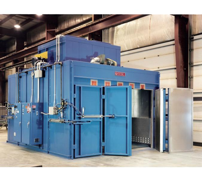 composite curing batch oven