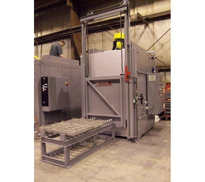Industrial Heat Treat Oven with Load Table