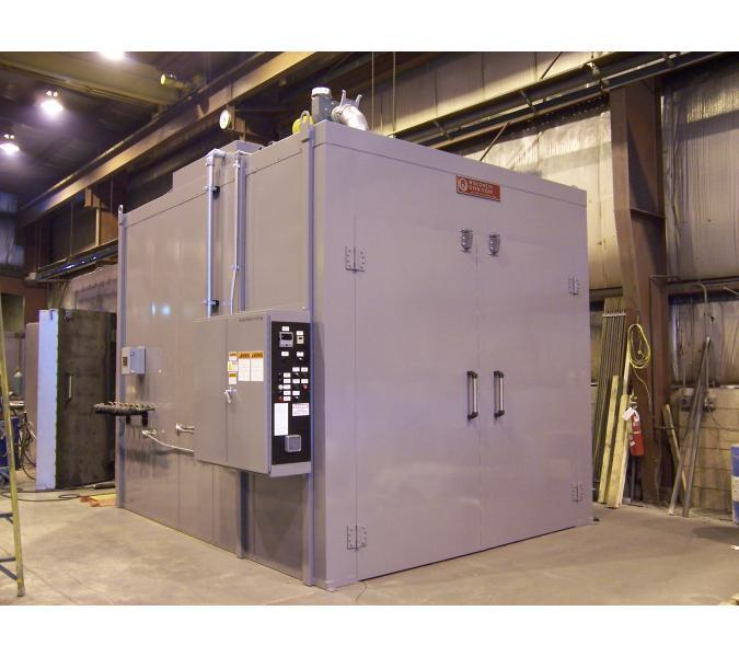 Powder Coating Walk-In Oven