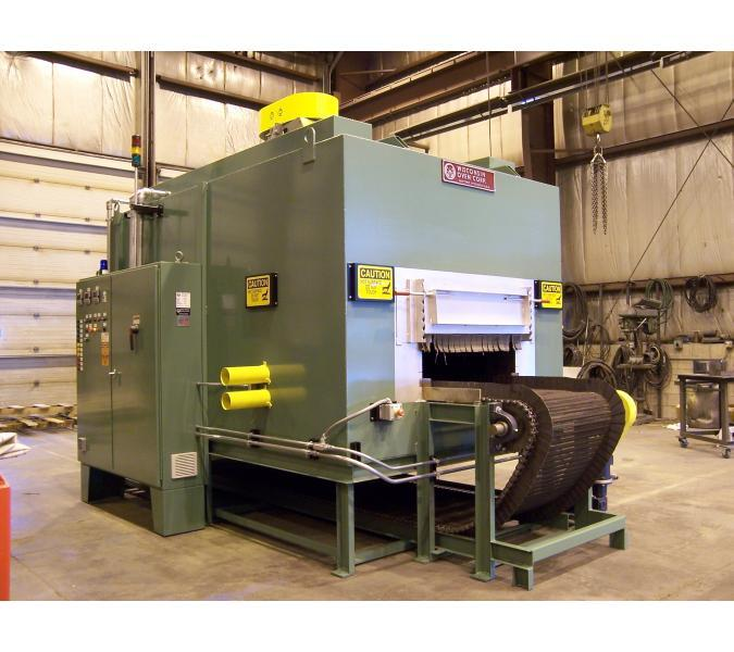 bottom flow conveyor oven