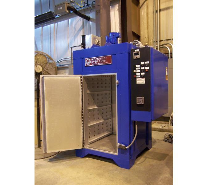 Heat treat bench oven