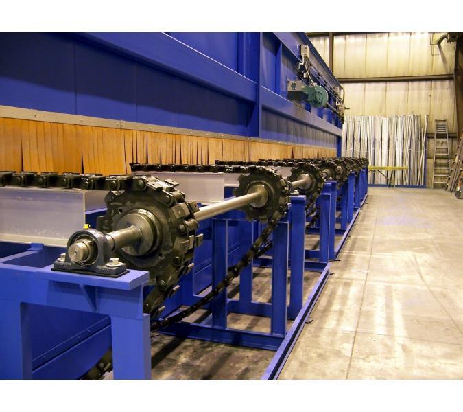 Bottom Flow Conveyor Ovens & Furnaces