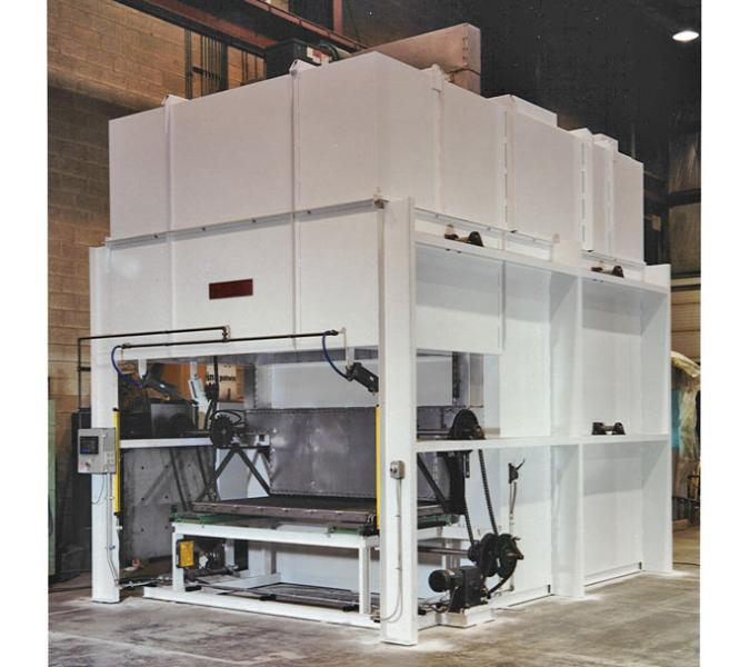 Vertical Conveyor Ovens & Furnaces