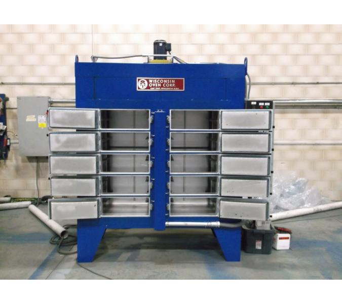 Electric and Gas-fired batch oven