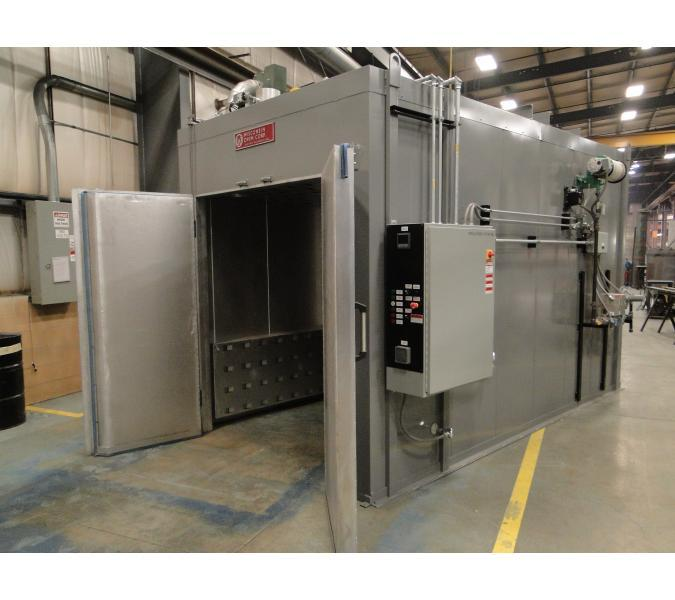 Express batch ebo oven powder curing oven wisconsin oven for Paint curing oven