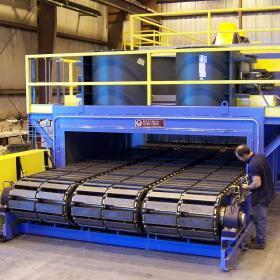 Conveyor Slat Chain Ovens & Furnaces