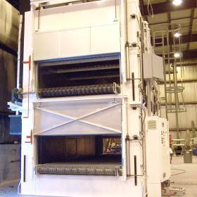 top flow conveyor oven