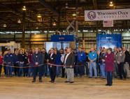 WOC Champion Plant Ribbon Cutting
